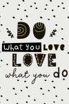 Постер 30х40 в раме Do what you love