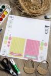 Пасхальный набор для декорирования с Вашим текстом Пасхальная корзина