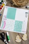 Пасхальный набор для декорирования с Вашим текстом Цыпа
