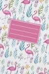 Тетрадь в линейку Фламинго