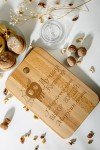 Доска разделочная с вашим текстом Лучшая кулинария