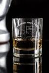 Стакан для виски с именной гравировкой На пике удачи