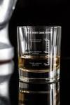 Стакан для виски с именной гравировкой Шкала отличного настроения
