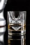 Стакан для виски с вашим текстом Лучший охотник