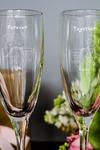 Набор бокалов для шампанского с вашим текстом Вместе навсегда