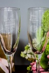 Набор бокалов для шампанского с вашим текстом Котенок