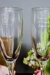 Набор бокалов для шампанского с вашим текстом Одуванчик