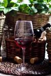 Бокал для красного вина с Вашим текстом 8 марта
