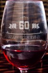 Бокал для красного вина с Вашим текстом С Юбилеем