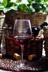 Бокал для красного вина с Вашим текстом Chateau