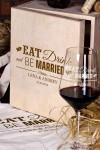 Набор бокалов подарочный с именной гравировкой Be Married