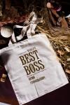Набор бокалов подарочный с именной гравировкой Best Boss