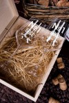 Набор бокалов подарочный с именной гравировкой Номер один