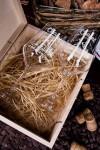 Набор бокалов подарочный с именной гравировкой Chalet