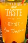Набор бокалов для лимонада с Вашим именем Taste of summer