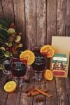 Набор для глинтвейна подарочный с Вашим текстом Семейный праздник