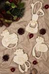 Набор елочных украшений Обезьянки