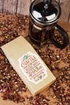Набор для чая подарочный с Вашим текстом Теплота