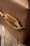Деревянная бирка с персональной гравировкой 23 февраля