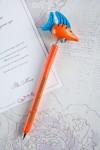Ручка шариковая с Вашим текстом Рыбка