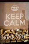 Рамка-копилка для пробок с Вашим текстом Keep Calm