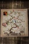 Игра настольная с Вашими именами Семейное древо