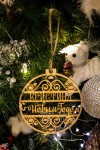 Елочная игрушка с Вашим именем С Новым Годом!