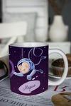Кружка с вашим текстом Космонавты