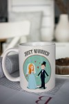 Кружка с вашим текстом Just Married