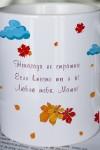 Кружка с вашим текстом Осень