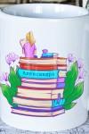 Кружка с Вашим текстом Книги
