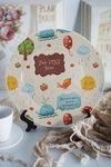 Тарелка декоративная с вашим текстом Ребенку