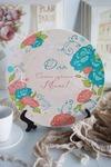 Тарелка декоративная с вашим текстом Самой любимой!