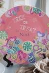 Тарелка декоративная с вашим текстом Конфеты