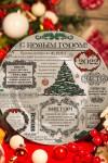 Тарелка декоративная с вашим текстом Новогодние вести