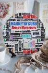 Тарелка декоративная с вашим текстом Подарок маркетологу
