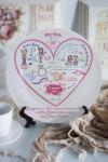 Тарелка декоративная с вашим текстом История одной любви