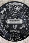 Тарелка декоративная с вашим текстом Гурмано итальяно