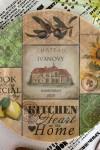 Тарелка декоративная с вашим текстом Heart of the Home
