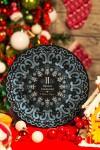 Тарелка декоративная с вашим текстом Точечная роспись