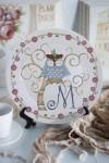 Тарелка декоративная с вашим текстом Волшебный сон