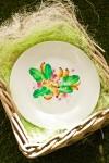 Тарелка декоративная с вашим текстом Фруктовый букет