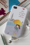 Чехол для iphone 4/4S с вашим текстом С любовью