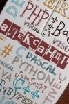 Мышь компьютерная с Вашим текстом Языки программирования