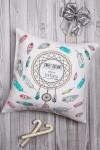Подушка декоративная с Вашим именем Ловец снов