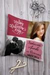 Подушка декоративная с Вашим именем Романтичный фотоколлаж