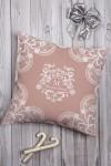Подушка декоративная с Вашим именем Кружева