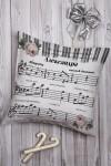 Подушка декоративная с Вашим именем Музыка