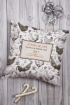 Подушка декоративная с Вашим именем Птицеферма