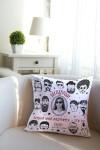 Подушка декоративная с Вашим именем Мужчина-подарок